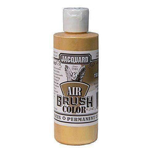 Jacquard Airbrush Color Paint 4 OZ Paint & Dye Jacquard Metal True Gold