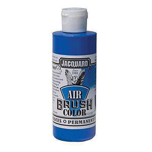 Jacquard Airbrush Color Paint 4 OZ Paint & Dye Jacquard Metallic Blue