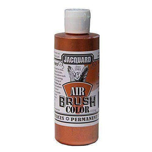 Jacquard Airbrush Color Paint 4 OZ Paint & Dye Jacquard Metallic Copper