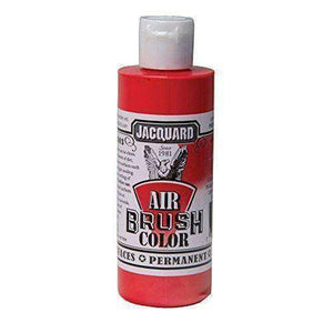 Jacquard Airbrush Color Paint 4 OZ Paint & Dye Jacquard Metallic Red