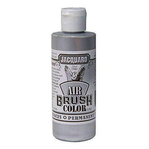 Jacquard Airbrush Color Paint 4 OZ Paint & Dye Jacquard Metallic Silver