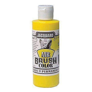 Jacquard Airbrush Color Paint 4 OZ Paint & Dye Jacquard Metallic Yellow