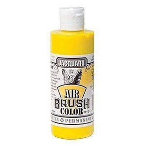 Jacquard Airbrush Color Paint 4 OZ Paint & Dye Jacquard Trans Yellow