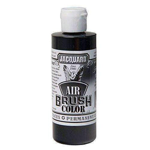 Jacquard Airbrush Color Paint 4 OZ Paint & Dye Jacquard Transparent Black
