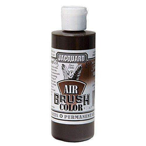 Jacquard Airbrush Color Paint 4 OZ Paint & Dye Jacquard Transparent Brown