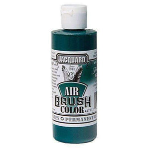 Jacquard Airbrush Color Paint 4 OZ Paint & Dye Jacquard Transparent Green