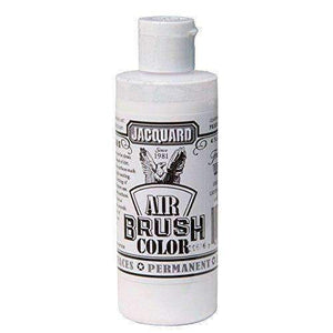 Jacquard Airbrush Color Paint 4 OZ Paint & Dye Jacquard Transparent White
