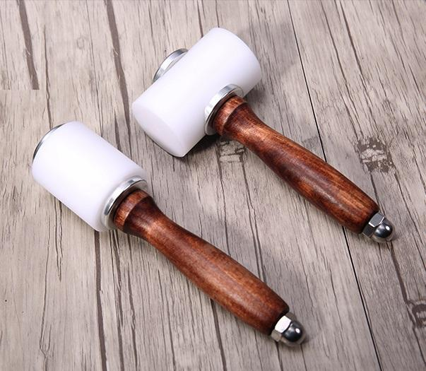 LCS Leathercraft Nylon Polymer Mallet - Carving/Punch Hammer Craft & Repair LCS Set of Two