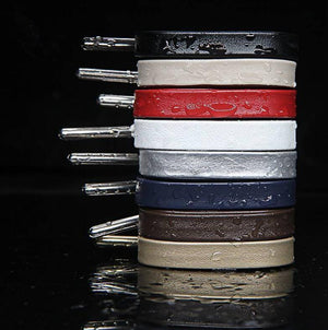 "LCS Premium Soft Sheepskin Leather Laces 72"" Accessories,Footwear LCS"