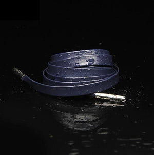 "LCS Premium Soft Sheepskin Leather Laces 72"" Accessories,Footwear LCS Navy"