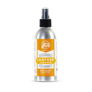 Leather Care Supply Leather Cleaner - Restores, Nourishes, Resist Mold, Mildew & Rot - All Natural, Non-Toxic. Made in The USA. Shoe & Leather Care, Accessories LCS