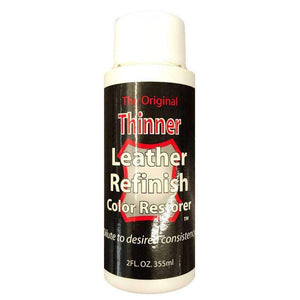 Leather Reinish Thinner 2 oz Shoe & Leather Care Leather Refinish