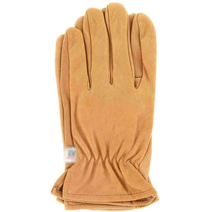 M & F Western Men's Hd Xtreme Suede Deerskin Gloves Light Brown Large Apparel Accessories M&F Western Small