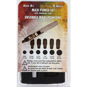 Maxi Punch Set - 6 Tubes Craft & Repair LCS