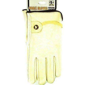 M&F Western H2112248 Men's HDX Cowhide w/ Ball & Tab Gloves Apparel Accessories M&F Western Large Natural