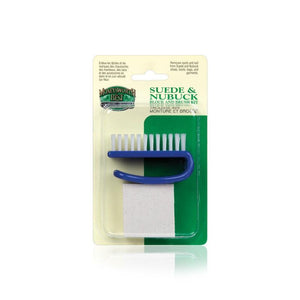 Moneysworth & Best Suede & Nubuck Care Kit Cleaner & Restorer - Nylon Brush & Eraser Block Accessories,Shoe & Leather Care Moneysworth & Best