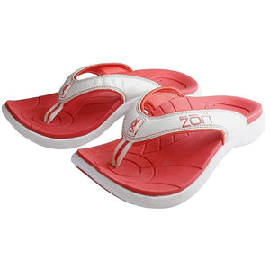 Neat Feat Neat Zori Unisex Orthotic Thong Sandals Footwear Neat Feat Red/White US 10