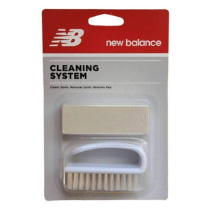 New Balance Nubuck & Suede Kit Dry-Cleaning System Cleaner Eraser Bar and Brush Shoe & Leather Care New Balance