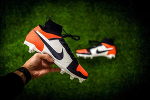 "Nike ""Air Jordan 1"" Custom Football Cleats Footwear Nike"