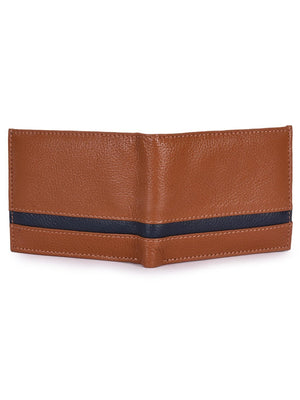 Phive Rivers Men's Tan Leather Wallet Apparel Accessories Phive Rivers
