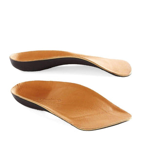 Powerstep Signature Leather 3/4 Orthotic Arch/Heel Support Insoles Foot Care Powerstep Mens 10 - 10.5/Womens 12 - 12.5