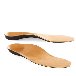 Powerstep Signature Leather Full Orthotic Arch/Heel Support Insoles Foot Care Powerstep Mens 10 - 10.5/Womens 12 - 12.5