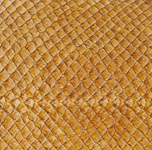 Premium Fish Skin Exotic Leather - Amber Craft & Repair Shadi