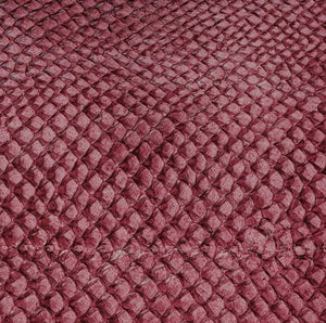 Premium Fish Skin Exotic Leather - Cherry Craft & Repair Shadi