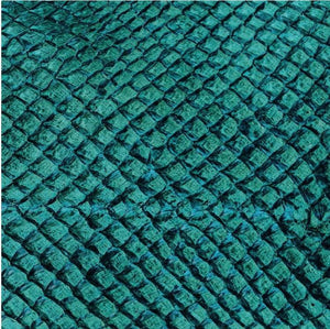 Premium Fish Skin Exotic Leather - Emerald Craft & Repair Shadi