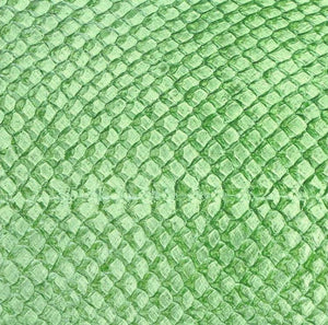 Premium Fish Skin Exotic Leather - Green Apple Craft & Repair Shadi