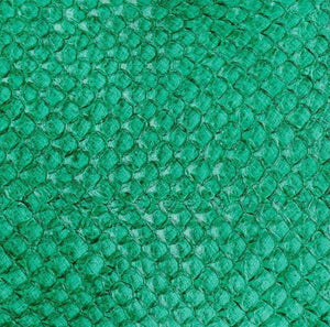 Premium Fish Skin Exotic Leather - Green Glass Craft & Repair Shadi