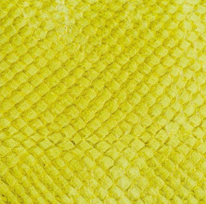 Premium Fish Skin Exotic Leather - Lemon Craft & Repair Shadi
