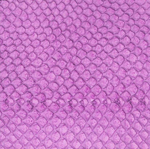 Premium Fish Skin Exotic Leather - Lilac Craft & Repair Shadi