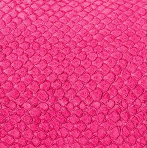 Premium Fish Skin Exotic Leather - Magenta Craft & Repair Shadi