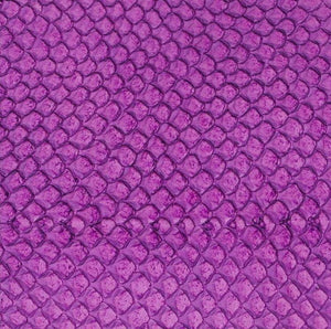 Premium Fish Skin Exotic Leather - Orchid Craft & Repair Shadi