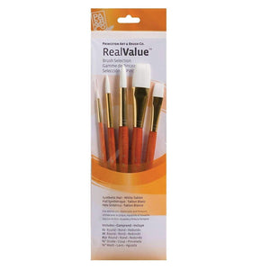 Princeton Real Value 5-Brush Set - 9152 Paint & Dye Princeton