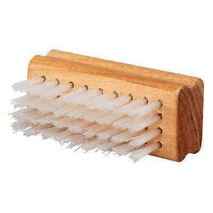 Professional Nylon Shoe Cleaning Brush - Nylon bristle with wood Block Apparel Accessories Professional Quality