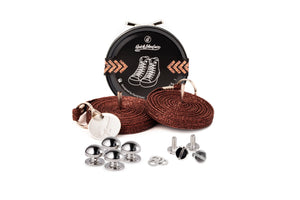 Quickshoelace Original Accessories,Footwear Quickshoelace Dark Copper Round