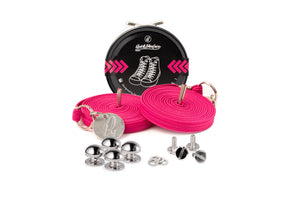 Quickshoelace Original Accessories,Footwear Quickshoelace Magenta Round