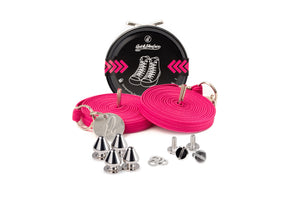 Quickshoelace Original Accessories,Footwear Quickshoelace Magenta Spike
