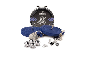 Quickshoelace Original Accessories,Footwear Quickshoelace Marine Blue Round
