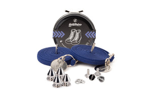 Quickshoelace Original Accessories,Footwear Quickshoelace Marine Blue Spike