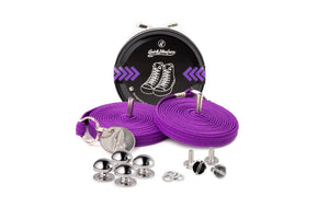Quickshoelace Original Accessories,Footwear Quickshoelace Purple Round
