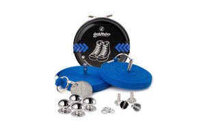 Quickshoelace Original Accessories,Footwear Quickshoelace Royal Blue Round