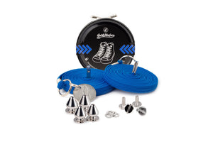 Quickshoelace Original Accessories,Footwear Quickshoelace Royal Blue Spike