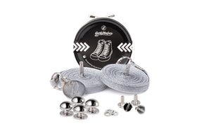 Quickshoelace Original Accessories,Footwear Quickshoelace Silver Round