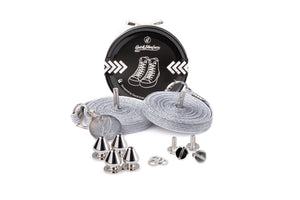 Quickshoelace Original Accessories,Footwear Quickshoelace Silver Spike