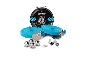 Quickshoelace Original Accessories,Footwear Quickshoelace Turquoise Round