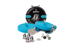 Quickshoelace Original Accessories,Footwear Quickshoelace Turquoise Spike