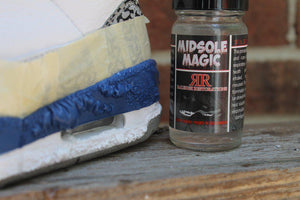 Raleigh Restorations RR Midsole Magic - Smooth and Easy Midsole Stripping Paint & Dye, Craft & Repair Raleigh Restorations